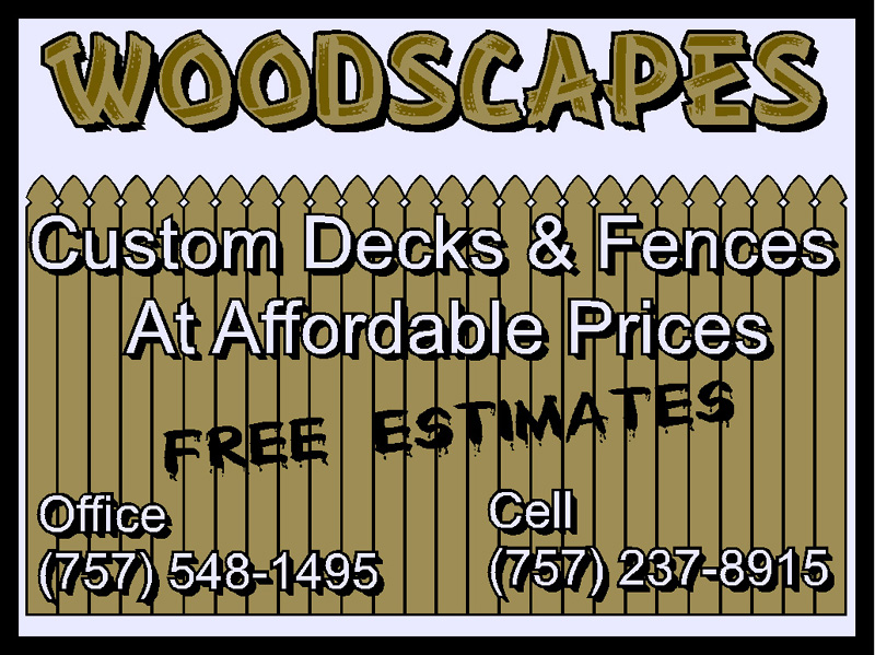 woodscape sign